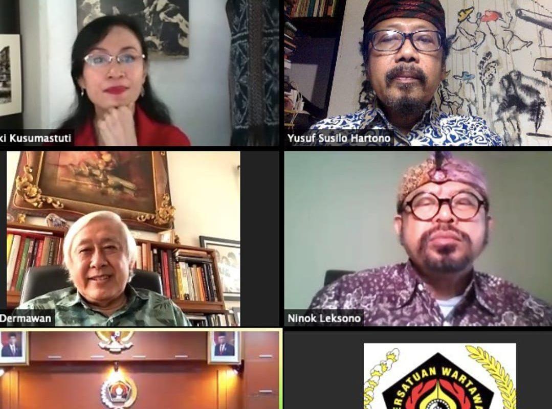 10 Calon Penerima Anugerah Kebudayaan PWI Pusat 2021