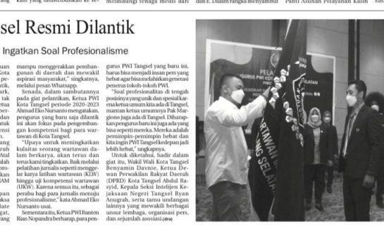 Photo: Berita Koran Cetak Tangselpos