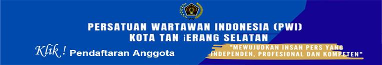 Pendaftaran Anggota PWI Tangsel