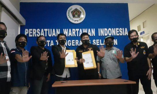 PWI Tangsel-GRANAT Teken Kerjasama Sosialisasi Bahaya Narkoba, Dukung Program Kampung Bebas Narkoba GRANAT Tangsel