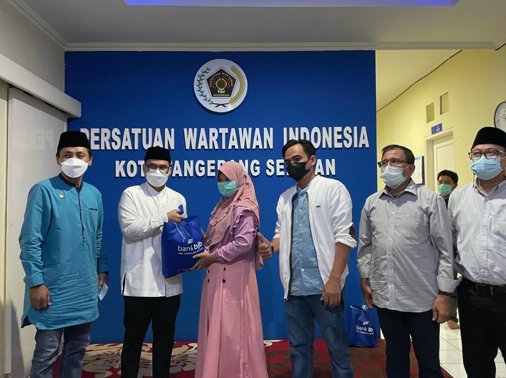 PWI Tangsel Gelar Berbagi Berkah Ramadan, Silaturahmi dan Santunan Anak Yatim